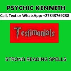 Who Is The Powerful Love Spells Psychic In South Africa, Call / WhatsApp Confidential Personal Love Psychic Kenneth Guidance, Restore Marriages