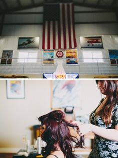Vintage aircraft inspired wedding! Celebrate with Cal Aero Events at the Cal Aero Aviation Country Club venue!! #calaeroevents #uniquevenue #calaeroaviationcountryclub just now #aviationweddingideas
