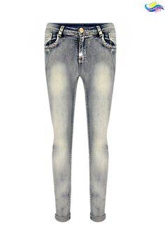 Γυναικείο τζιν skinny wash PANT-4861 #woman #instagram #beautiful #instafamous #instamood #fashion #fashionable #style #modern #fashionista #boho #instagood #instaLike #clothes #womenfashion #womenclothes #cute #shopping