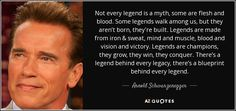 Not every legend is a myth, some are flesh and blood. Some legends walk among us, but they aren't born, they're built. Legends are made from iron & sweat, mind and muscle, blood and vision and victory. Legends are champions, they grow, they win, they conquer. There's a legend behind every legacy, there's a blueprint behind every legend.
