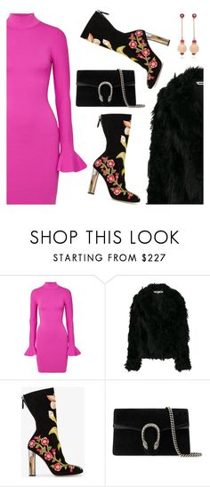 """""""Inspiration of the Day"""" by dressedbyrose ❤ liked on Polyvore featuring MICHAEL Michael Kors, McQ by Alexander McQueen, Alexander McQueen, Gucci, Hanut Singh, ootd, inspiration and polyvoreeditorial"""