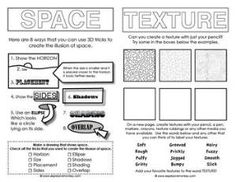 Worksheets Elements Of Art Worksheets elements of art and worksheets on pinterest sketchbook activities to introduce young artists some the