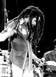 Rock And Roll Photograph - Bob Marley 1979 Dreads by Chris Walter