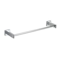 """Concealed Square Modern 18"""" Wall Mounted Towel Bar"""