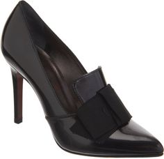 LANVIN Bow Loafer Pump - Lyst