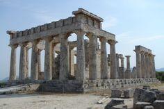 Tempio di Ἀφαία (periptero),Egina V secolo