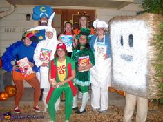 Cereal Characters - Homemade costumes for groups