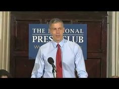In case you missed it, here's a video of the entire press conference for The State of Preschool 2012 release, which feature a panel moderated by Celia Ayala and included Jack Brennan of Vanguard, Randi Weingarten of AFT, and Steve Barnett of NIEER as well as Education Secretary Arne Duncan and Health and Human Services Secretary Kathleen Sebelius. #prekYB