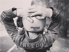 Freedom… . Via @pier2wheels . (Please tag  author)