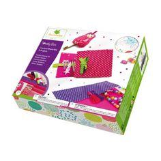Lovely Box Coffret couture branchée Au Sycomore pour enfant de 7 ans à 12 ans - Oxybul éveil et jeux