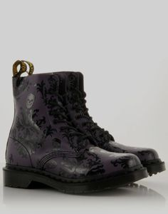 DR. MARTENS Skull Boots - BANK Fashion