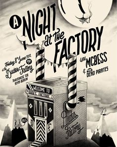 One night at the Factory - Dudes Factory