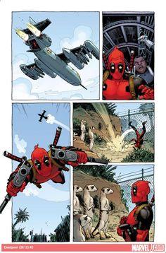 Deadpool (2012) #2 preview art by Tony Moore    http://marvel.com/news/story/19718/deadpool_-_presidential_primaries_reagan