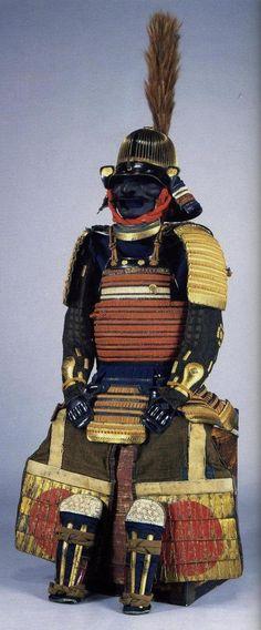 Japanese samurai armor Todo Taka.