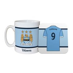 I Just Love It Personalised Manchester City Shirt Mug and Coaster Personalised Manchester City Shirt Mug and Coaster - Gift Details. If you?re looking for a fabulous football-esque mug and coaster set this is it. Manchester City fans will adore it! Our Personalised http://www.MightGet.com/january-2017-11/i-just-love-it-personalised-manchester-city-shirt-mug-and-coaster.asp