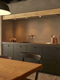 Best Kitchen Countertops, Above Kitchen Cabinets, Living Room Kitchen, Kitchen Decor, Home Living Room, Dirty Kitchen, Kitchen And Bath, Kitchen Sponge, Kitchen Dishes
