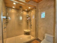 No less than seven shower heads in this fabulous master bathroom on Rio Grande Blvd., Albuquerque #Albuquerque http://www.everestpeakrealty.com/real-estate/765986/3405-rio-grande-boulevard-albuquerque-nm-87107/