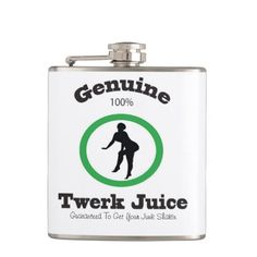 Genuine Twerk Juice Hip Flask