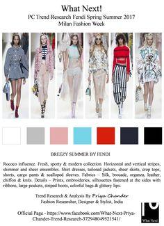 #Fendi #KarlLagerfeld #SS17 #SilviaVenturiniFendi #MilanFashionWeek #MFW #FendiSS17 #fashionindustry #Rococo #Frenchart #stripes #cargopants #croptops #readytowear #RTW #fashionista #Milan #runway #MarieAntoinette #jackets #ribbons #priyachander #whatnextpctrendresearch #shirtdress #fashionweek #fashionblogger #fashionresearch #fashionblog #fashionforward #springsummer2017 #fashion