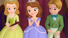 Disney Princess Sofia   PRINCESS AMBER, PRINCESS SOFIA, PRINCE JAMES