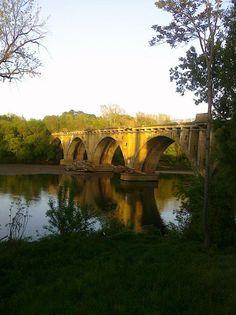 Railroad Bridge, Fredericksburg, Virginia