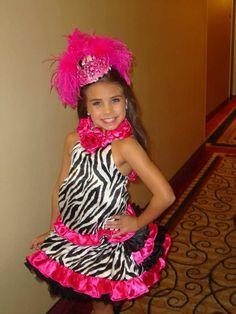National Glitz Pageant OOC Cilla Sebastian Zebra Pink 5 PC Lot Sz 4 6 Boutique | eBay