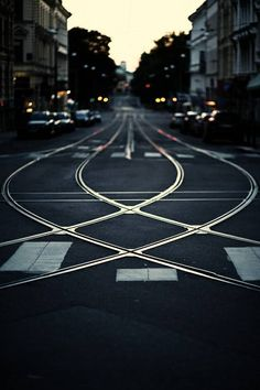 Unconventional #urban intersection.