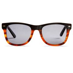 Fancy - Black Fade to Tortoise Sunglasses by Anglo American Optical