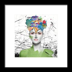 Colorist Framed Print by Nola Lee Kelsey.  All framed prints are professionally printed, framed, assembled, and shipped within 3 - 4 business days and delivered ready-to-hang on your wall. Choose from multiple print sizes and hundreds of frame and mat options.
