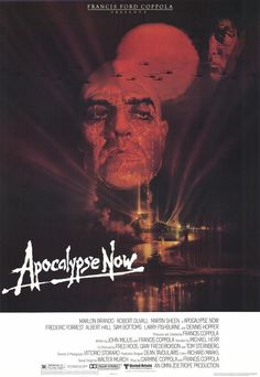 Apocalypse Now (1979).  Haunting imagery on this classic movie poster