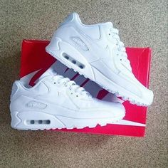 brand new 90ca9 a2617 Women s Sneakers   Picture Description Show Us Your Sneaks  S O to Danny  Adames with the triple white Nike Air Max 90 Leather trainer