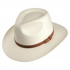 ae291472d7632 Buy the Signes Hats Outback Panama Hat - Natural at Village Hats. The  destination for hats and caps online.