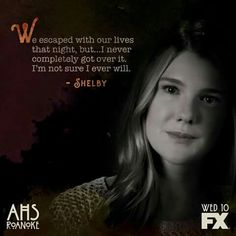 Shelby American Horror Story Series, American Horror Story Seasons, Ahs Witches, Roanoke Nightmare, Horror Show, Tv Show Quotes, I Am Scared, Best Tv, Horror Stories