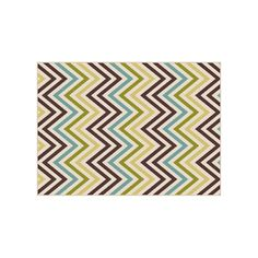 KHL Rugs Garden City Tyler Chevron Indoor Outdoor Rug, Ovrfl Oth, Durable