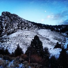Hiking back from the hotsprings in Idaho!