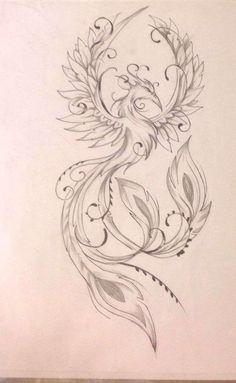 Cute Hand Tattoos, Cute Girl Tattoos, Unique Tattoos, Body Art Tattoos, Tattoo Drawings, Ear Tattoos, Feniks Tattoo, Yakuza Tattoo, Symbols Tattoos