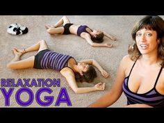 Relaxation or Bedtime Yoga Routine For Beginners To Help You Sleep & Stress Relief - YouTube