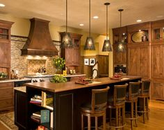 Kitchen Faux Copper Vent Hood Design, Pictures, Remodel, Decor and Ideas