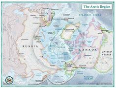 Map of the Arctic region Diomede Islands, Faroe Islands, Dani Washington, Polo Sul, Greenland Ice Sheet, Continental Shelf, Northern Canada, Human Geography, World Images