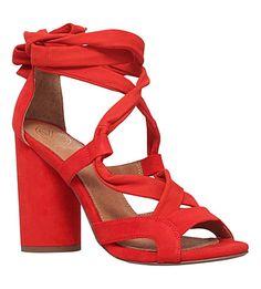KG KURT GEIGER - Mia suedette heeled sandals
