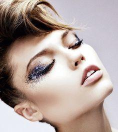 Glitter instead of metallics?