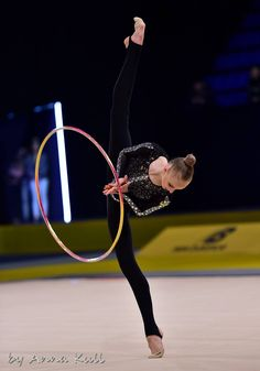 Olena DIACHENKO (Ukraine) ~ Hoop @ Deriugina Cup - Grand Prix @ Kiev  ~ 17/03/'17 ❤️❤️  Anna Kull.