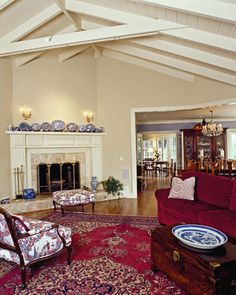 Living room - traditional - living room - san francisco - Camber Construction