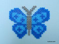 Papillon en perles à repasser