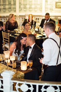 RC and Emily tied the knot in a Fun Great Gatsby Themed Wedding at the Orchid Garden Orlando.   Photography By: Kristen Weaver Photography