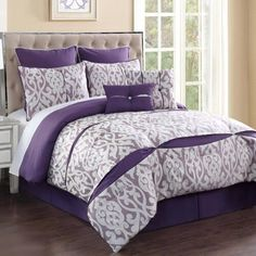 Rianna Comforter Set, 8-Piece | Christmas Tree Shops andThat!