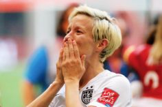 Megan Rapinoe celebrates the 5-2 victory against Japan in the FIFA Women's World Cup Canada 2015 Final at BC Place Stadium on July 5, 2015 in Vancouver, Canada.