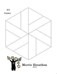 Barbara Brackman's MATERIAL CULTURE: Morris Hexathon 10: Thames Path