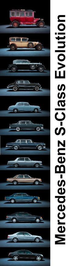 The Evolution of The Mercedes-Benz S-Class! #mercedes #iautohaus #mercedesclassiccars