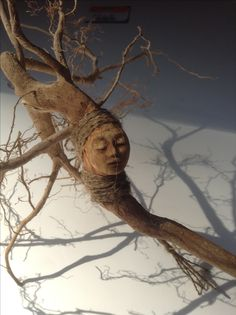 Tree spirit doll by artist Kaveman 2013